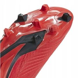 Buty piłkarskie adidas Predator 19.3 Fg M BB9334 czerwone wielokolorowe 9