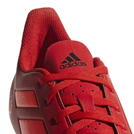 Buty piłkarskie adidas Predator 19.4 FxG M D97970 czerwone wielokolorowe 3