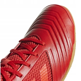 Buty halowe adidas Predator 19.4 In Sala M D97976 czerwone wielokolorowe 3