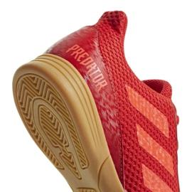 Buty halowe adidas Predator 19.4 In Sala Jr CM8552 czerwone wielokolorowe 8