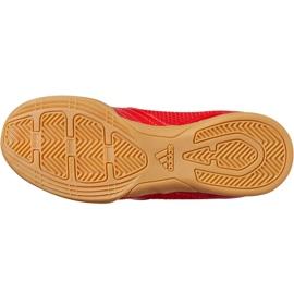 Buty halowe adidas Predator 19.4 In Sala Jr CM8552 czerwone wielokolorowe 10
