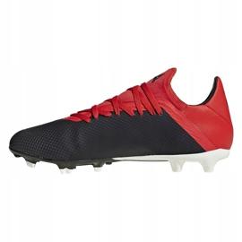Buty piłkarskie adidas X 18.3 Fg M BB9366 czarny czarne 1
