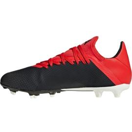 Buty piłkarskie adidas X 18.3 Fg M BB9366 czarny czarne 6