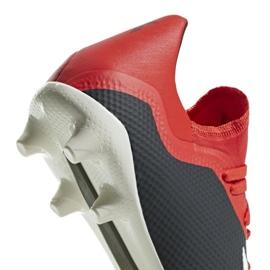 Buty piłkarskie adidas X 18.3 Fg M BB9366 czarny czarne 10