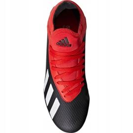 Buty piłkarskie adidas X 18.3 Fg Jr BB9370 czarne czarny 1
