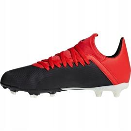 Buty piłkarskie adidas X 18.3 Fg Jr BB9370 czarne czarny 2
