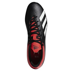 Buty piłkarskie adidas X 18.4 Fg M BB9375 czarne czarne 2