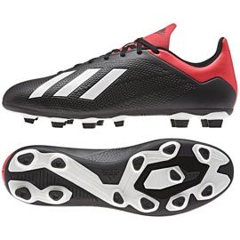 Buty piłkarskie adidas X 18.4 Fg M BB9375 czarny czarne 3