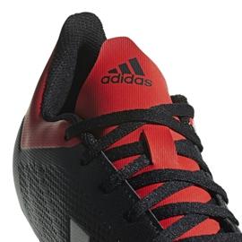 Buty piłkarskie adidas X 18.4 Fg M BB9375 czarne czarne 4