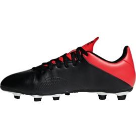 Buty piłkarskie adidas X 18.4 Fg M BB9375 czarny czarne 6