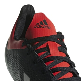 Buty piłkarskie adidas X 18.4 Fg M BB9375 czarne czarne 8
