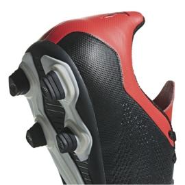 Buty piłkarskie adidas X 18.4 Fg M BB9375 czarne czarne 10