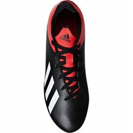 Buty piłkarskie adidas X 18.4 FxG Jr BB9378 czarne czarne 1