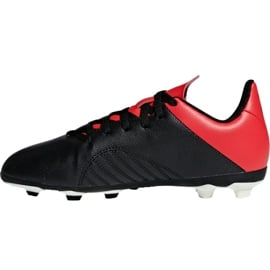 Buty piłkarskie adidas X 18.4 FxG Jr BB9378 czarny czarne 2