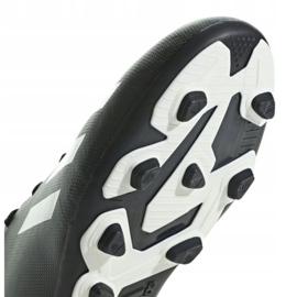 Buty piłkarskie adidas X 18.4 FxG Jr BB9378 czarny czarne 4