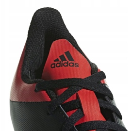 Buty piłkarskie adidas X 18.4 FxG Jr BB9378 czarne czarne 5