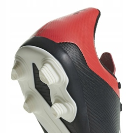 Buty piłkarskie adidas X 18.4 FxG Jr BB9378 czarne czarne 6