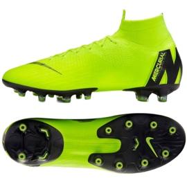 Buty piłkarskie Nike Mercurial Superfly 6 Elite Ag Pro M AH7377-701 różowy, zielony zielone 2