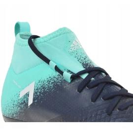 Buty piłkarskie adidas Ace 17.1 Fg Jr S77040 niebieskie niebieskie 2