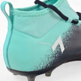 Buty piłkarskie adidas Ace 17.1 Fg Jr S77040 niebieskie niebieskie 3