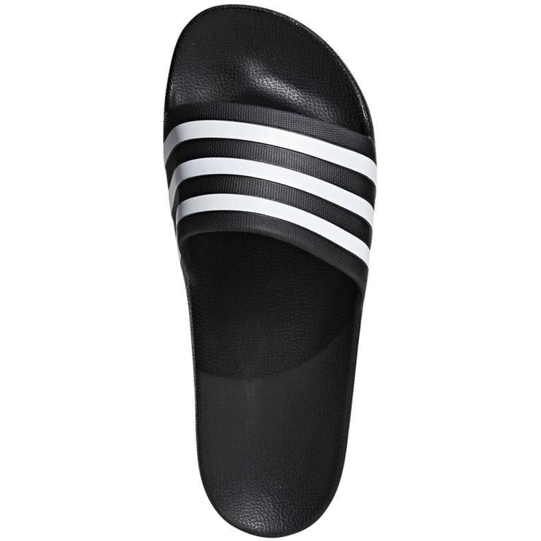 Czarne Klapki adidas Adilette Aqua F35543 zdjęcie 1