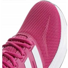 Buty biegowe adidas Runfalcon W F36219 różowe 1