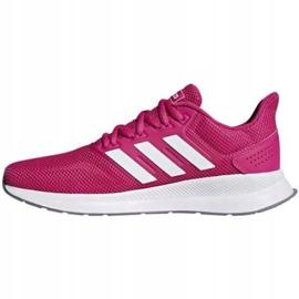 Buty biegowe adidas Runfalcon W F36219 różowe 2