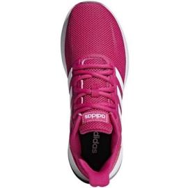 Buty biegowe adidas Runfalcon W F36219 różowe 3