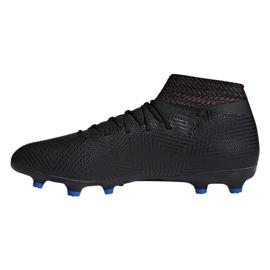 Buty piłkarskie adidas Nemeziz 18.3 Fg M D97981 wielokolorowe czarne 1