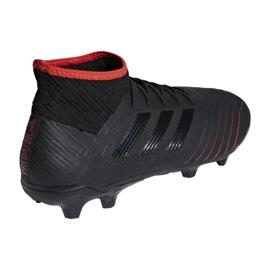 Buty piłkarskie adidas Predator 19.2 Fg M D97939 czarne czarne 2