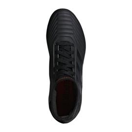 Buty piłkarskie adidas Predator 19.3 Jr D98003 czarne wielokolorowe 1