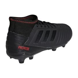 Buty piłkarskie adidas Predator 19.3 Jr D98003 czarne wielokolorowe 2