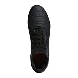 Buty piłkarskie adidas Predator 19.3 Fg M D97942 czarne czarny 1