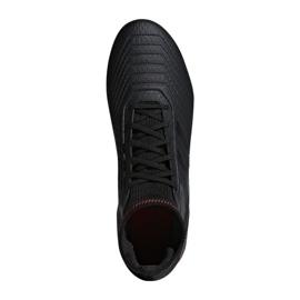 Buty piłkarskie adidas Predator 19.3 Fg M D97942 czarne wielokolorowe 1