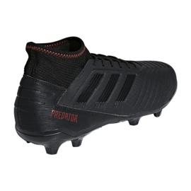 Buty piłkarskie adidas Predator 19.3 Fg M D97942 czarne czarny 2