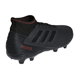 Buty piłkarskie adidas Predator 19.3 Fg M D97942 czarne wielokolorowe 2