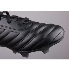 Buty piłkarskie adidas Copa 19.4 Fg M D98068 czarne czarne 1