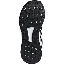 Buty adidas Duramo 9 Jr BB7061 białe czarne 2