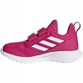 Buty adidas AltaRun Cf K Jr CG6895 różowe 1