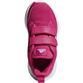 Buty adidas AltaRun Cf K Jr CG6895 różowe 2