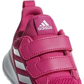 Buty adidas AltaRun Cf K Jr CG6895 różowe 3
