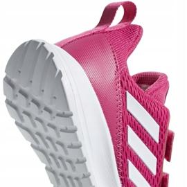 Buty adidas AltaRun Cf K Jr CG6895 różowe 4