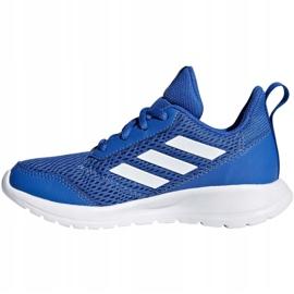 Buty adidas AltaRun K Jr CM8564 niebieskie 1