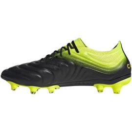 Buty piłkarskie adidas Copa 19.1 Fg M BB8088 szare wielokolorowe 2