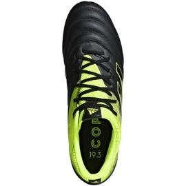 Buty piłkarskie adidas Copa 19.3 Fg M BB8090 szare wielokolorowe 1
