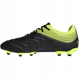 Buty piłkarskie adidas Copa 19.3 Fg M BB8090 szare wielokolorowe 2
