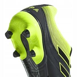 Buty piłkarskie adidas Copa 19.3 Fg M BB8090 szare wielokolorowe 4