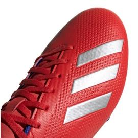 Buty piłkarskie adidas X 18.4 Fg M BB9376 czerwone wielokolorowe 3