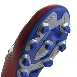 Buty piłkarskie adidas X 18.4 Fg M BB9376 czerwone wielokolorowe 5