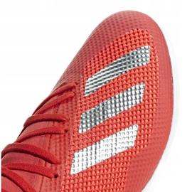 Buty halowe adidas X 18.3 In M BB9392 czerwone biały, czerwony 3